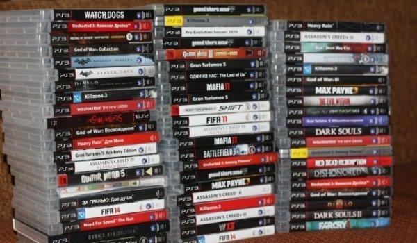 Много хороших игр для Playstation 3