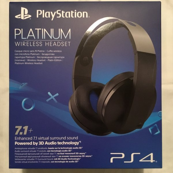 Sony Platinum и Gold Wireless Headset Uncharted 4, Black, White, Silver