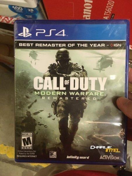 Слух: Call of Duty: Modern Warfare Remastered появится в магазинах в ближайшем времени