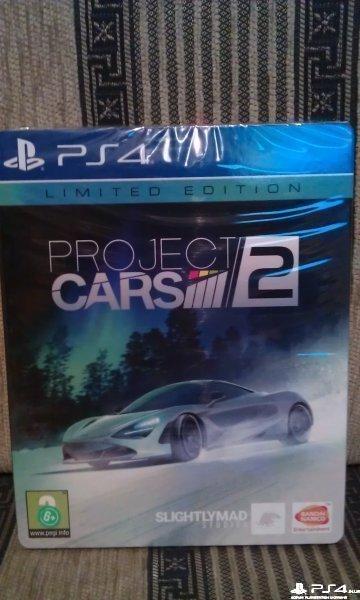 Project Cars 2 Limited Edition(стилбук) ,новый