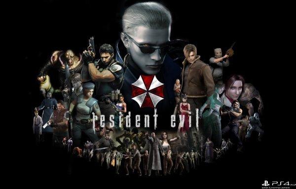 Resident evil 4,5,6. (из базы)