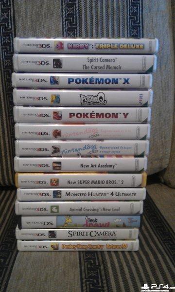 Продам игры Nintendo 3DS ,DS( NTSC ,PAL)