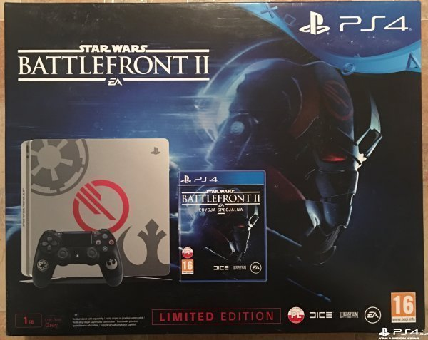 PS4 Slim 1TB STAR WARS: Battlefront II Limited Edition Bundle новая