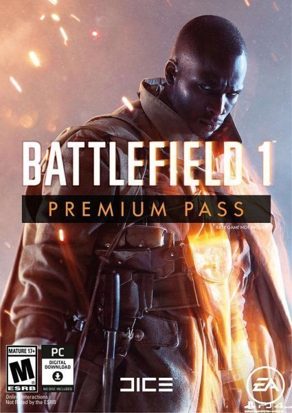 Battlefield 1 Premium Pass код активации