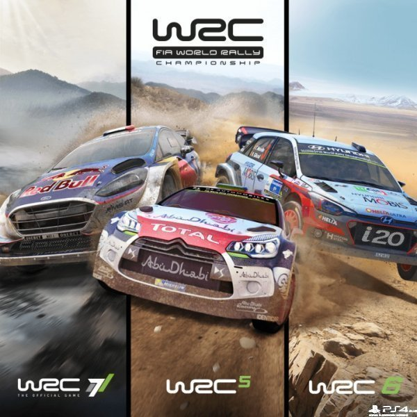 WRC Collection (WRC 5-6-7) / (П1)