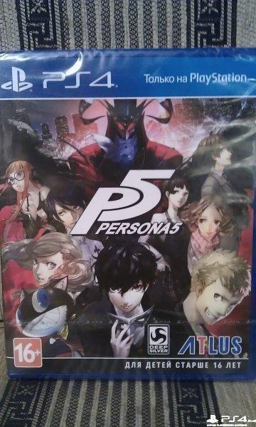 Persona 5 ,новый