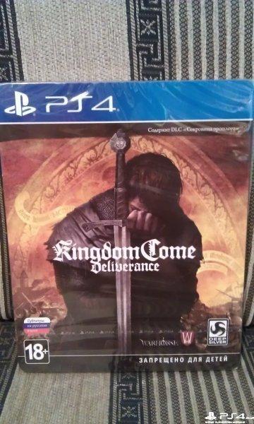 Kingdom Come Deliverance Steelbook Edition ,новый