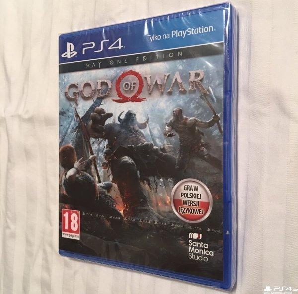 God of War Day One Edition и Gran Turismo Sport русские версии новые в пленке