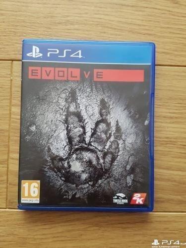 диск ps4 Evolve rus